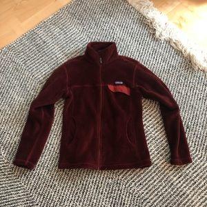 Patagonia women's full-zip fleece jacket